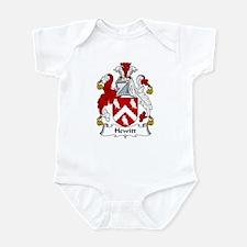 Hewitt Family Crest Infant Bodysuit