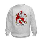Hervey Family Crest Kids Sweatshirt