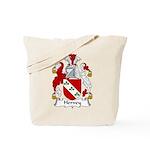 Hervey Family Crest Tote Bag