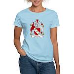 Hervey Family Crest Women's Light T-Shirt