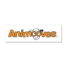 Animooves Logo Car Magnet 10 x 3