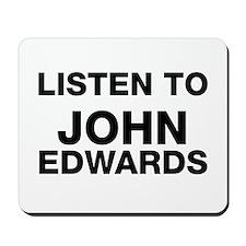 listen to John Edwards Mousepad