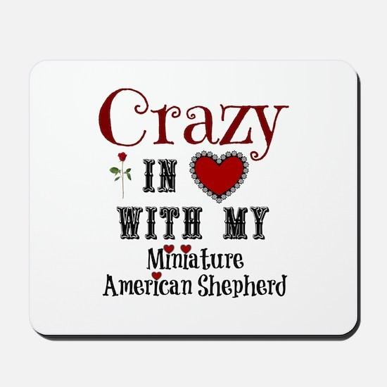 Miniature American Shepherd Mousepad