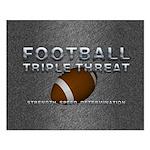 TOP Football Slogan Small Poster