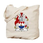 Herd Family Crest Tote Bag