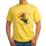 Patience My Ass Buzzard Yellow T-Shirt