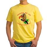 Buzzard tee Mens Yellow T-shirts