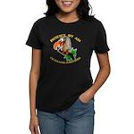 Patience My Ass Buzzard Women's Dark T-Shirt