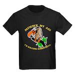 Patience My Ass Buzzard Kids Dark T-Shirt