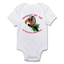 Patience My Ass Buzzard Infant Bodysuit