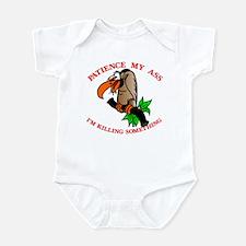 Patience My Ass Buzzard Infant Bodysuit