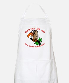 Patience My Ass Buzzard BBQ Apron