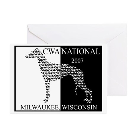 cwa nationals 2007 Greeting Cards (Pk of 20)