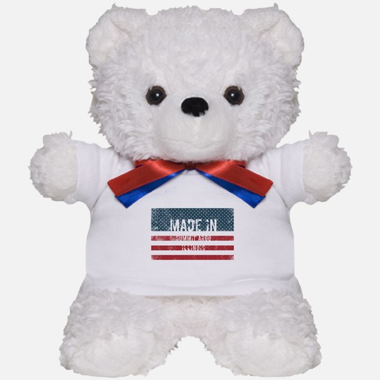 Made in Summit Argo, Illinois Teddy Bear