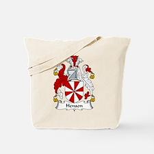 Henson Family Crest Tote Bag