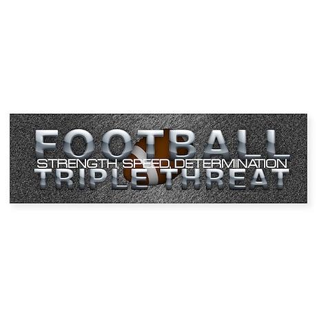TOP Football Slogan Sticker (Bumper)