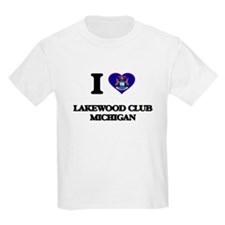 I love Lakewood Club Michigan T-Shirt
