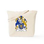 Henner Family Crest Tote Bag