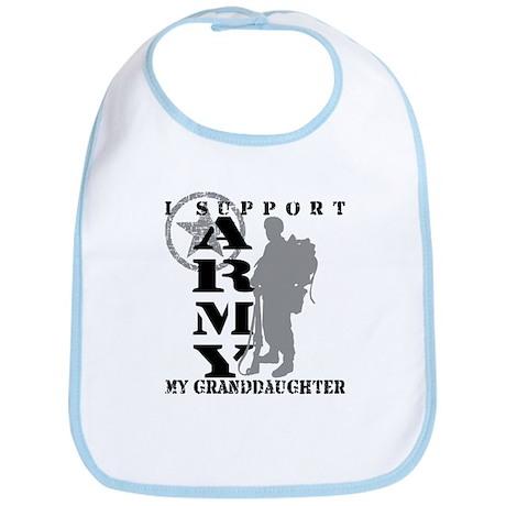 I Support Granddaughte 2 - ARMY Bib