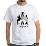 Hemming Family Crest White T-Shirt