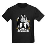 Hemming Family Crest Kids Dark T-Shirt