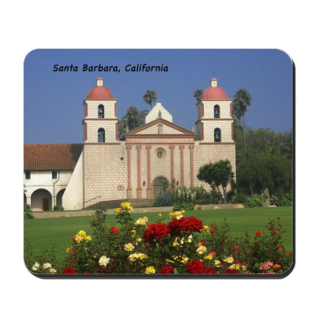 Santa barbara mission by sawtelle for Case in stile missione santa barbara