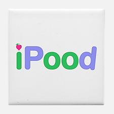 iPood Tile Coaster
