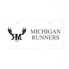 Aluminum License Plate - Michigan Runners