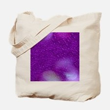 Glitter Bokeh purple Tote Bag
