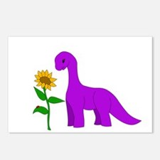 Sauropod and Sunflower Postcards (Package of 8)
