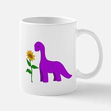 Sauropod and Sunflower Mugs