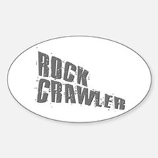 Rock Crawling Gifts & T-shirt Oval Decal