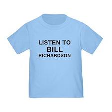 Listen to Bill Richardson T
