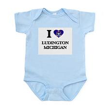 I love Ludington Michigan Body Suit