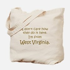 From West Virginia Tote Bag