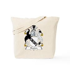 Heaton Family Crest Tote Bag