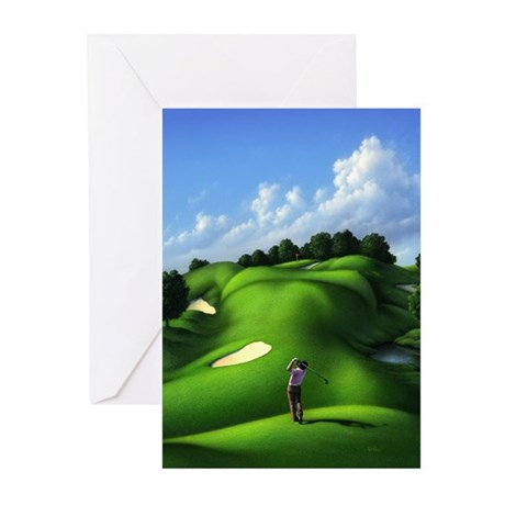 Just Love That Green 5 Greeting Cards (Pk of 10)