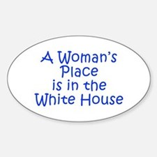 A Woman s Place is in the White House-Kri blue 400