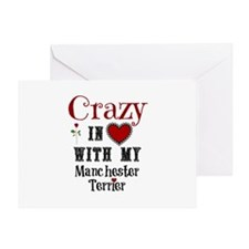 Manchester Terrier Greeting Cards