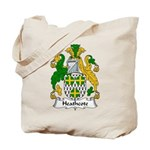 Heathcote Family Crest Tote Bag