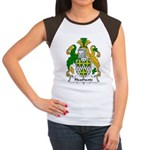 Heathcote Family Crest Women's Cap Sleeve T-Shirt