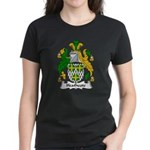 Heathcote Family Crest Women's Dark T-Shirt
