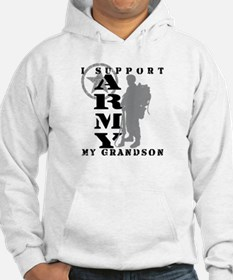 I Support Grandson 2 - ARMY Hoodie