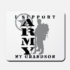 I Support Grandson 2 - ARMY Mousepad
