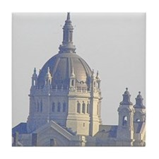 Cathedral, Saint Paul, MN Tile Coaster