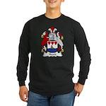 Heard Family Crest Long Sleeve Dark T-Shirt