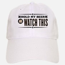 Hold My Beer Baseball Baseball Cap