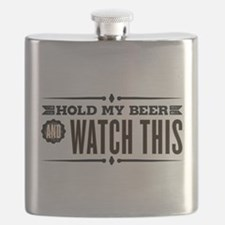 Hold My Beer Flask