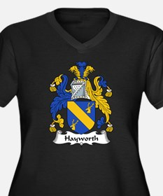 Hayworth Family Crest Women's Plus Size V-Neck Dar
