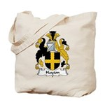 Hayton Family Crest Tote Bag